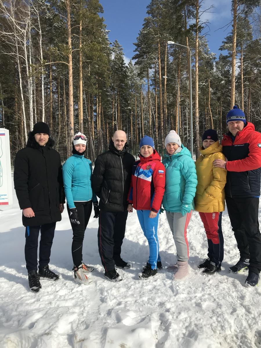 Областной зимний фестиваль ВФСК