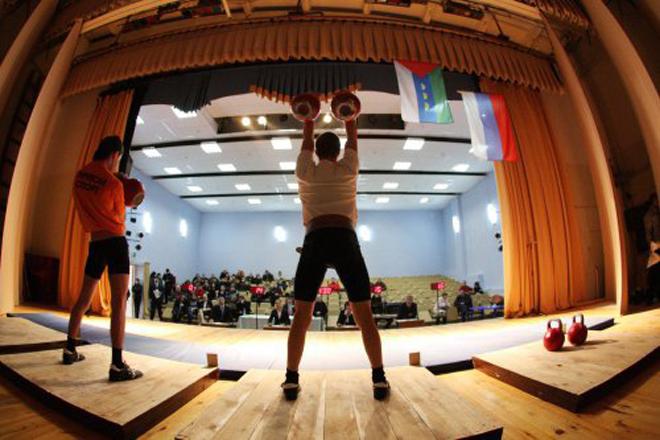 Открытый чемпионат Тюменского муниципального района по гиревому спорту