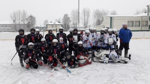 Районный турнир юных хоккеистов