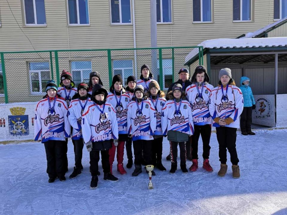 Команда Тюменского района лучшая в областном этапе турнира по хоккею на призы клуба
