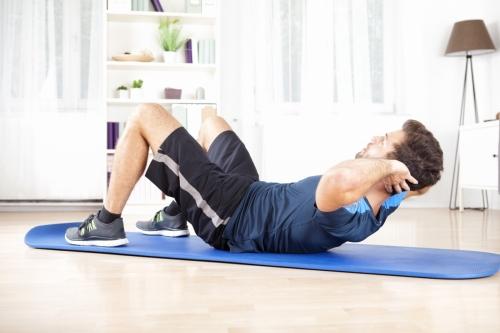 Самостоятельные занятия, общая физическая подготовка на дому