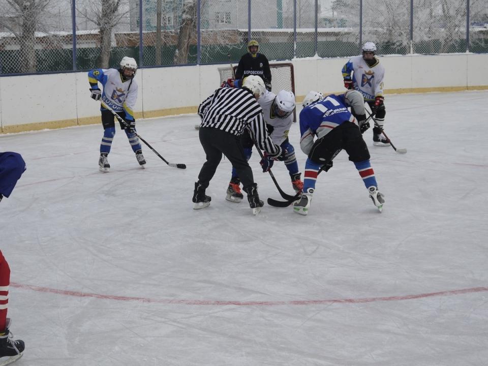 Районные соревнования юных хоккеистов