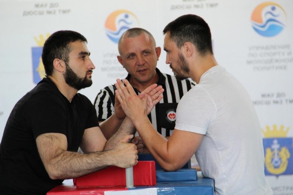 Открытый чемпионат Тюменского муниципального района по армрестлингу
